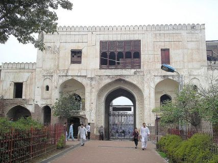 The gates of Peshawar's historic park are closed to tik tokers