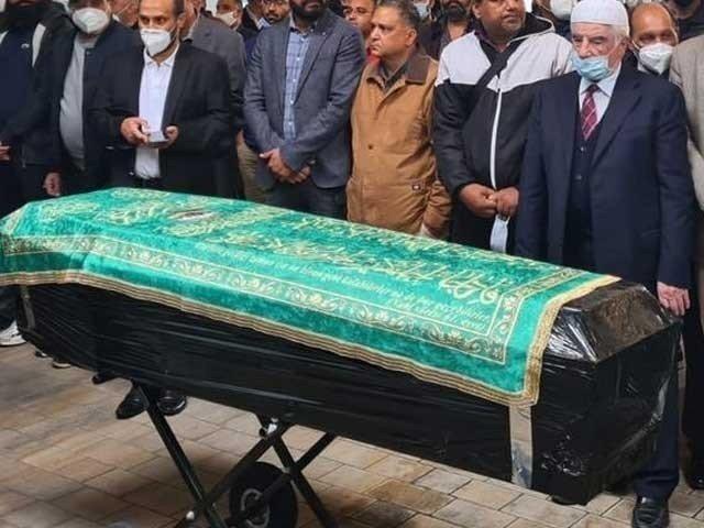 Comedy King Omar Sharif's death body