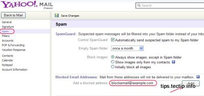 How to Block an Email on Yahoo Mail? | Mashtips