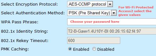 secure your BSNL wireless modem