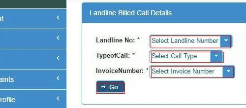 how to find out landline number