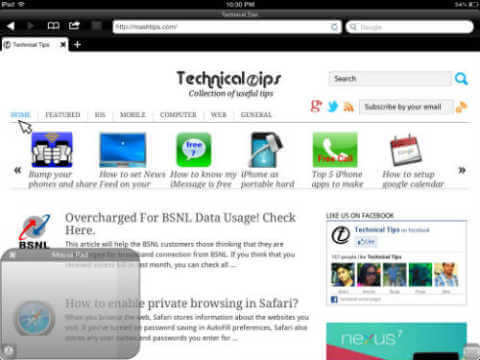 Top 4 browsers supports flash player on iPad and iPhone