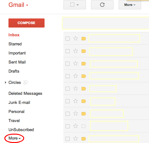Recover Deleted Email from GMail