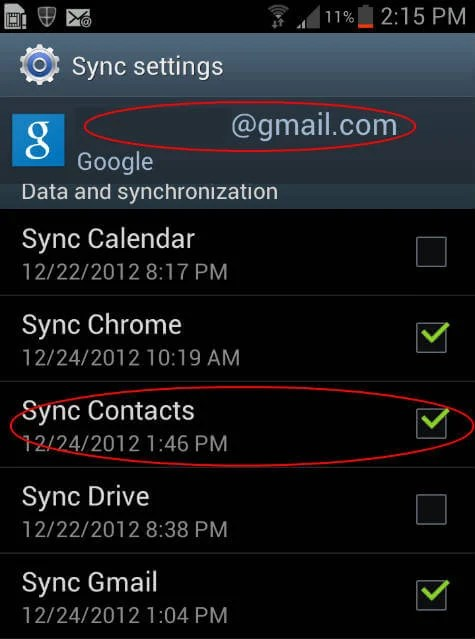 how to add google contacts to phone