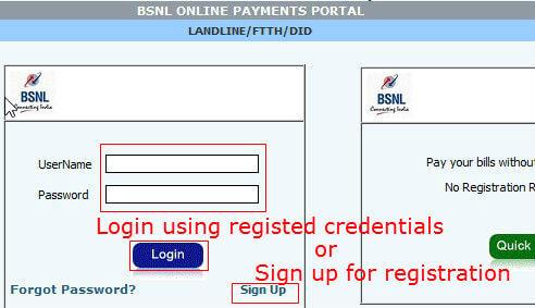 bsnl payment 2