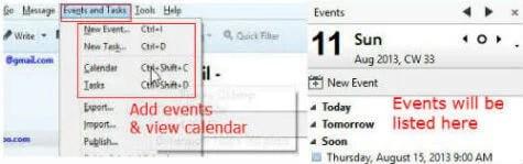 calendar thunderbird 8a