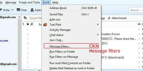 Automatically Sort Your Emails Using Thunderbird | Mashtips