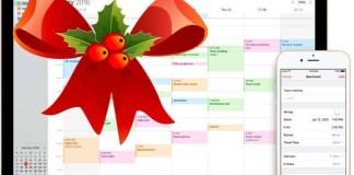 Country Holiday Calendar in MAC Calendar