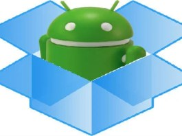 android dropbox folder