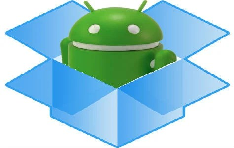 android dropbox folder
