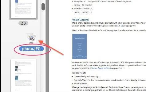 PDF Files Insert Photo