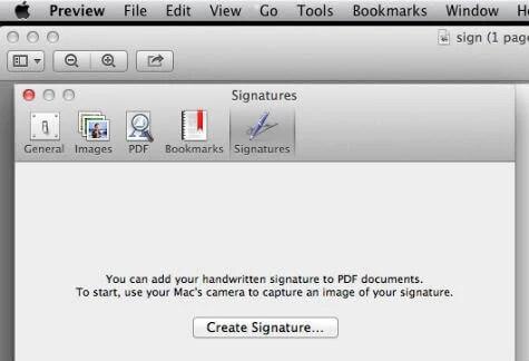 mac create signature