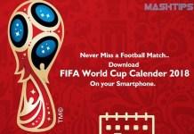 FIFA World Cup 2018 Calendar_Download