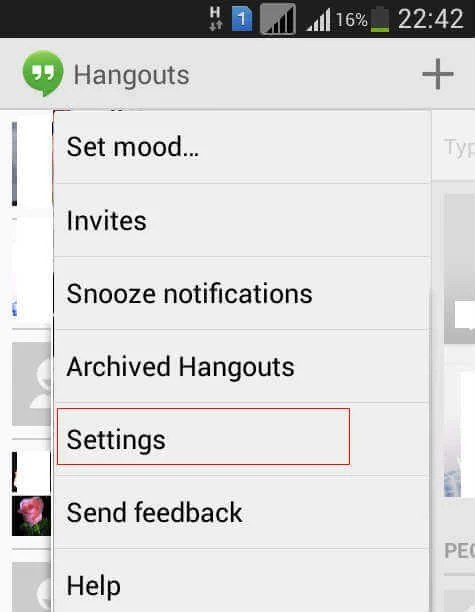 How to Disable / Enable SMS from Hangouts in Android | Mashtips