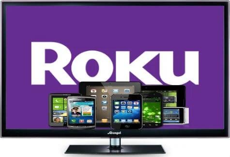 stream smartdevices to Roku