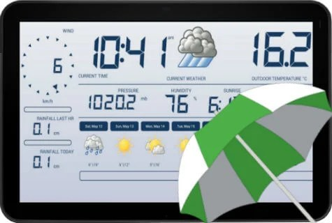 10 Best Android Weather Station Apps to use with Android Tablet  Mashtips