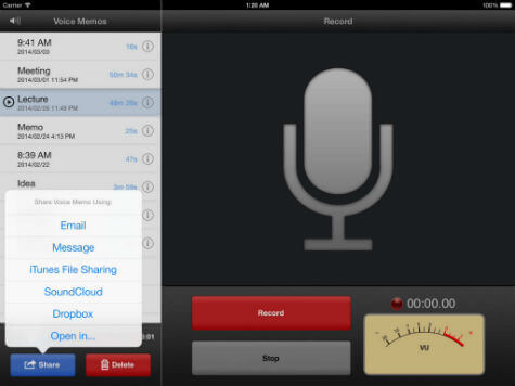 iphone voice memos move from phone