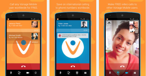 Vonage Mobile Android app