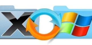 mac windows folder sync