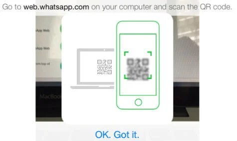 whatsapp iphone web scan