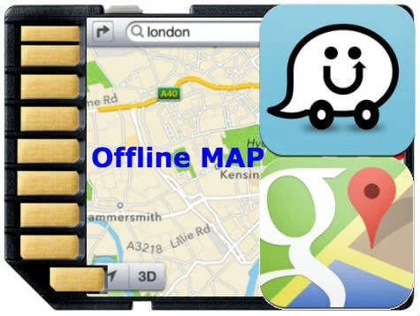 How to Get Waze and Google Map Offline to Save Mobile Data | Mashtips