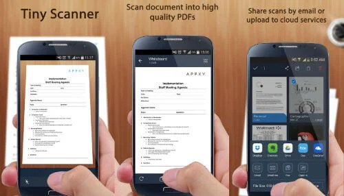 Android Tiny Scanner
