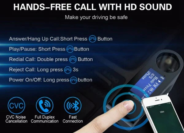 Bluetooth FM Call Feature