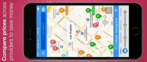 7 Best Iphone Parking Apps With Parking Lot Finder Parked Car