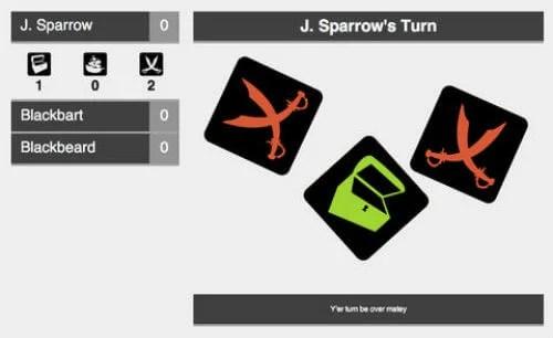 Pirate Dice - A Chromecast Game