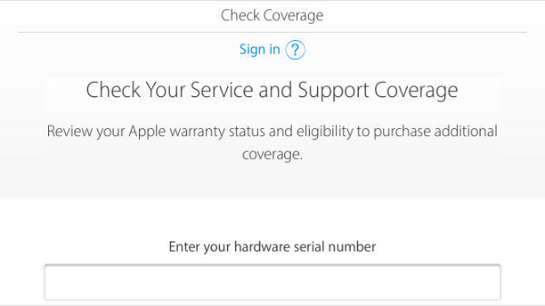 iPhone service coverage check