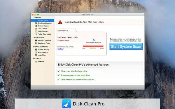 disk-clean-pro