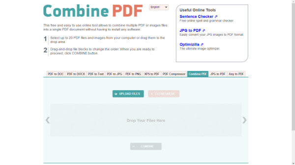 join and split pdf online