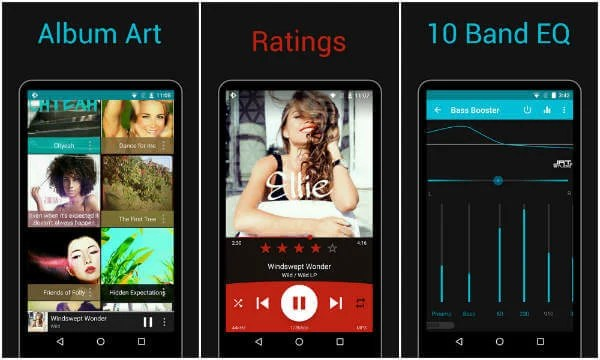 10 Best Android Music Player Apps for Amazing Experience | Mashtips