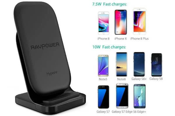 RAVPower Wireless Charging Stand
