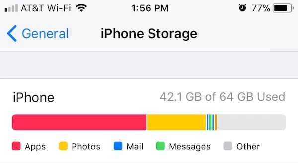 Free Storage iPhone
