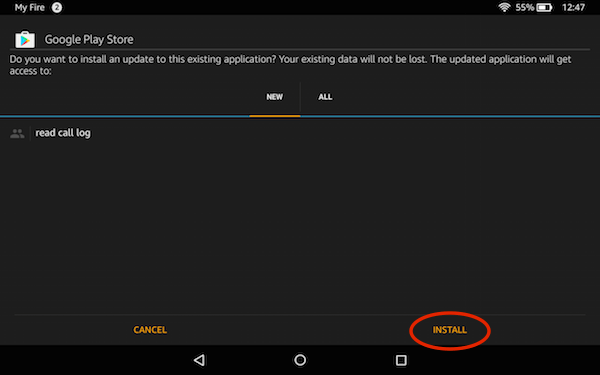 Install APK on Amazon Fire HD