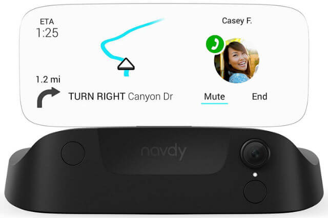Navdy Heads Up Display GPS Navigation