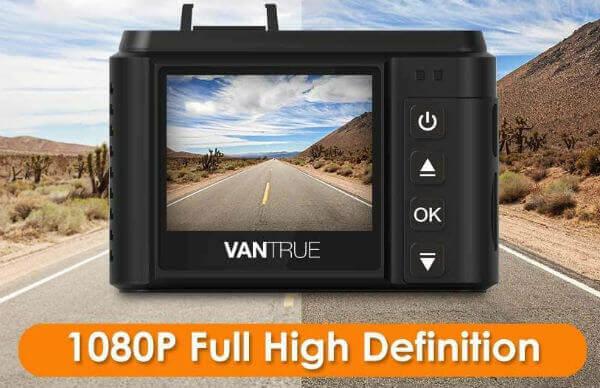 Vantrue N1 Pro Mini 1080P Dash Cam