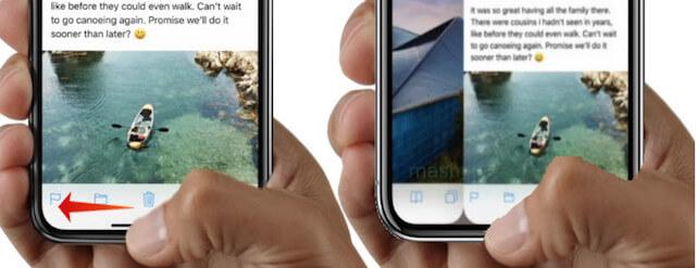 iPhone X Switch Between Apps