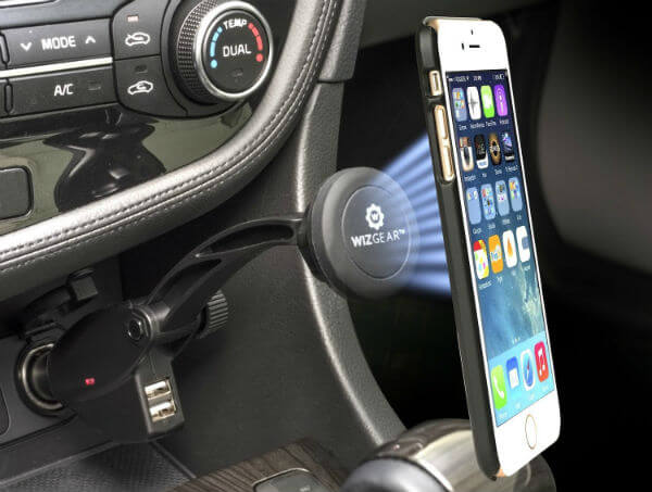WizGear Universal Magnetic Car Charger