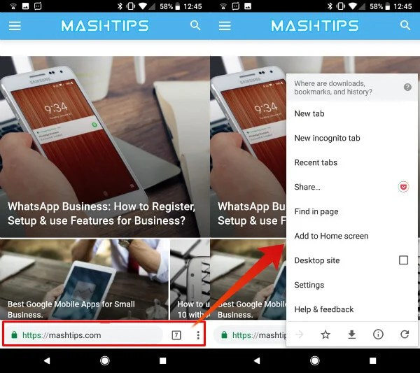 How to Move Chrome Address Bar to Bottom or Top | Mashtips