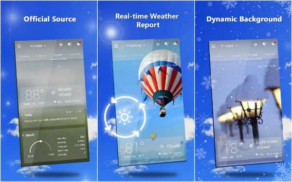 8 Best Android Weather App and Widgets for Smartphone  | Mashtips