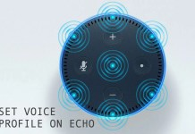Set Voice Profile on Echo