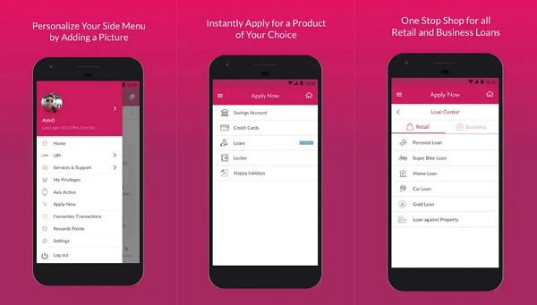 Axis Mobile - digital payment apps