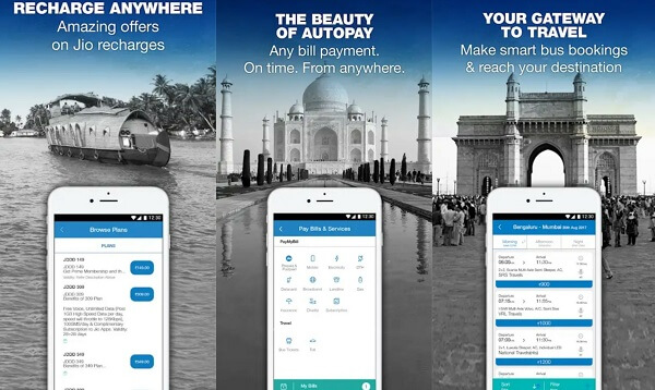 JioMoney - digital wallet apps