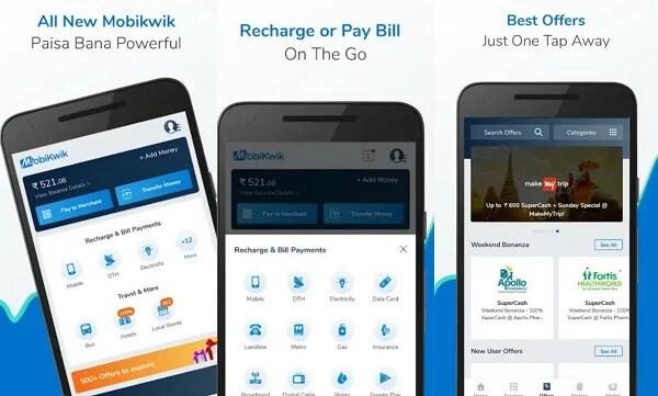 Mobikwik - digital wallet apps