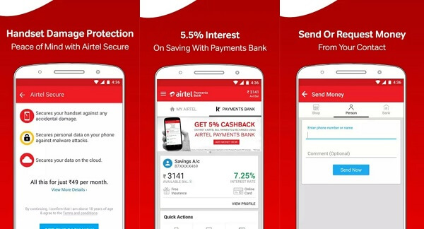 My Airtel - digital wallet apps