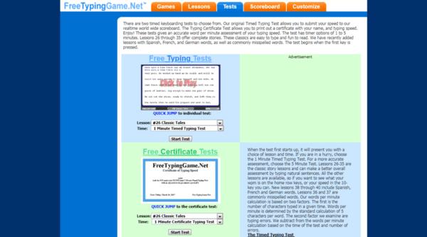 10 Best Typing Speed Test Tools Online    Mashtips