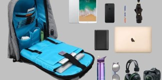 Antitheft Backpacks USB Charger