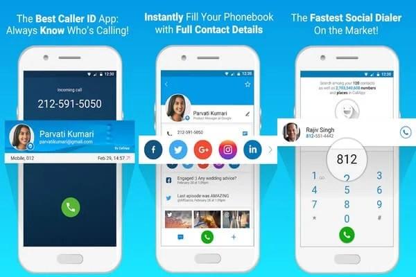 CallApp caller ID app